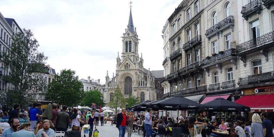 J'aime ma commune / Saint-Gilles : Le Parvis, son nouveau visage et son piétonnier