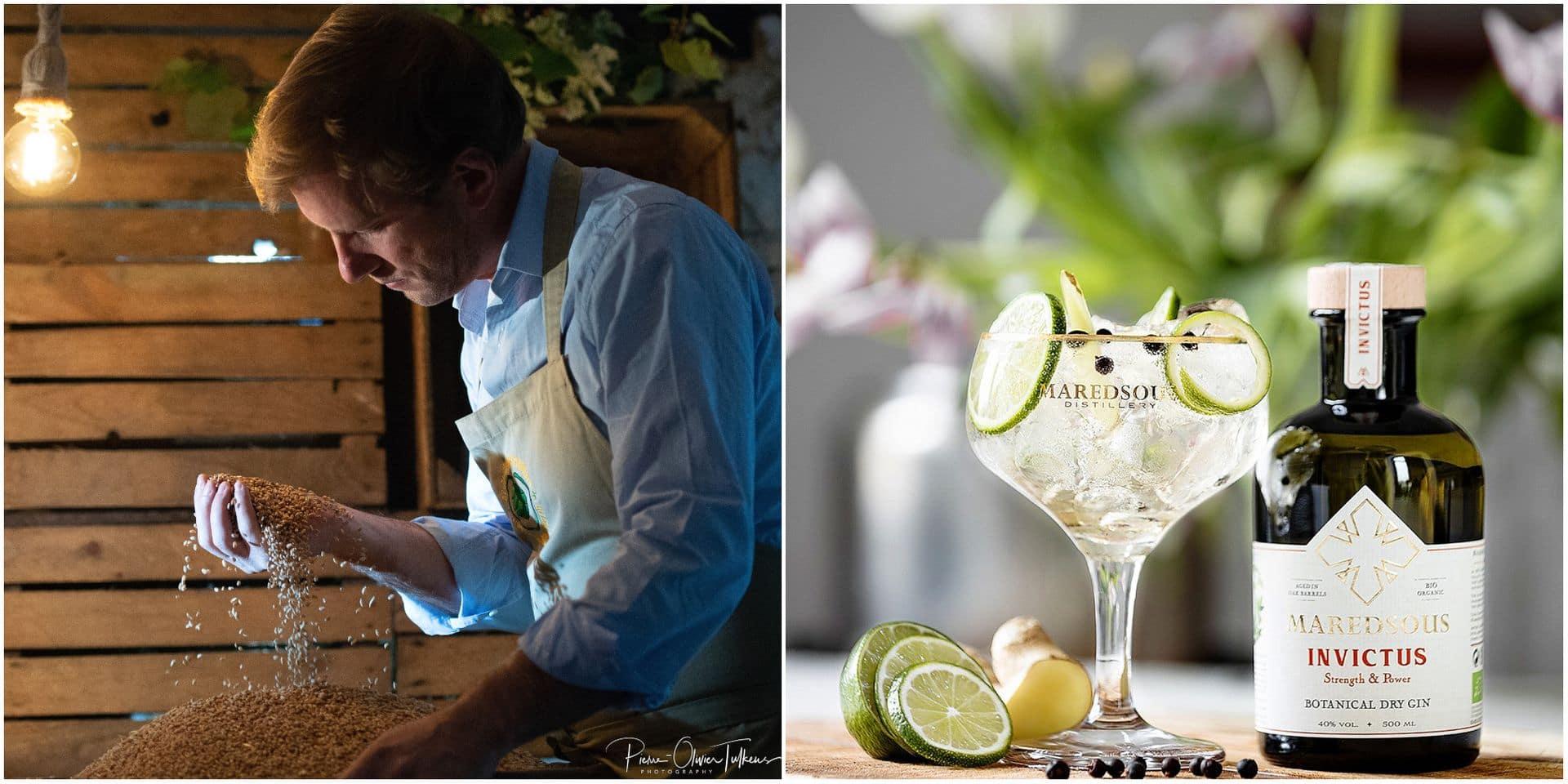 """Du gin fabriqué à Maredsous (mais pas à l'abbaye) : """"Une valeur ajoutée au produit qui est 100 % bio"""""""