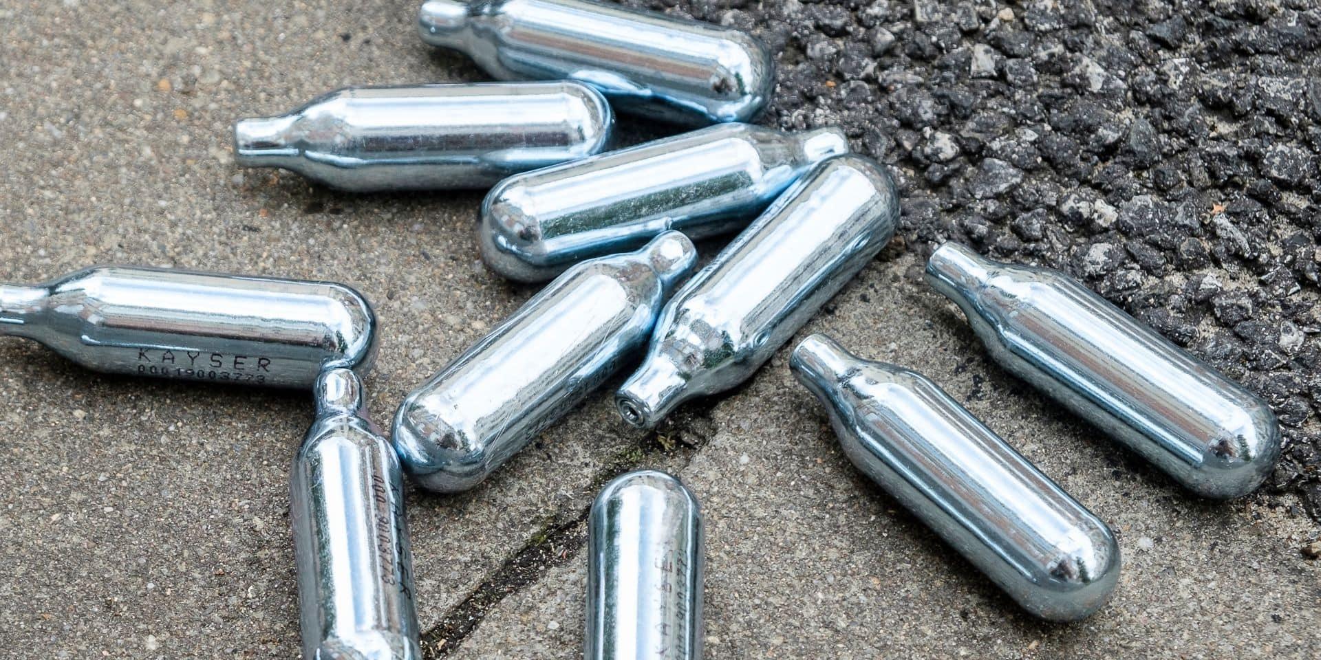 Le gaz hilarant désormais interdit partout dans le Borinage