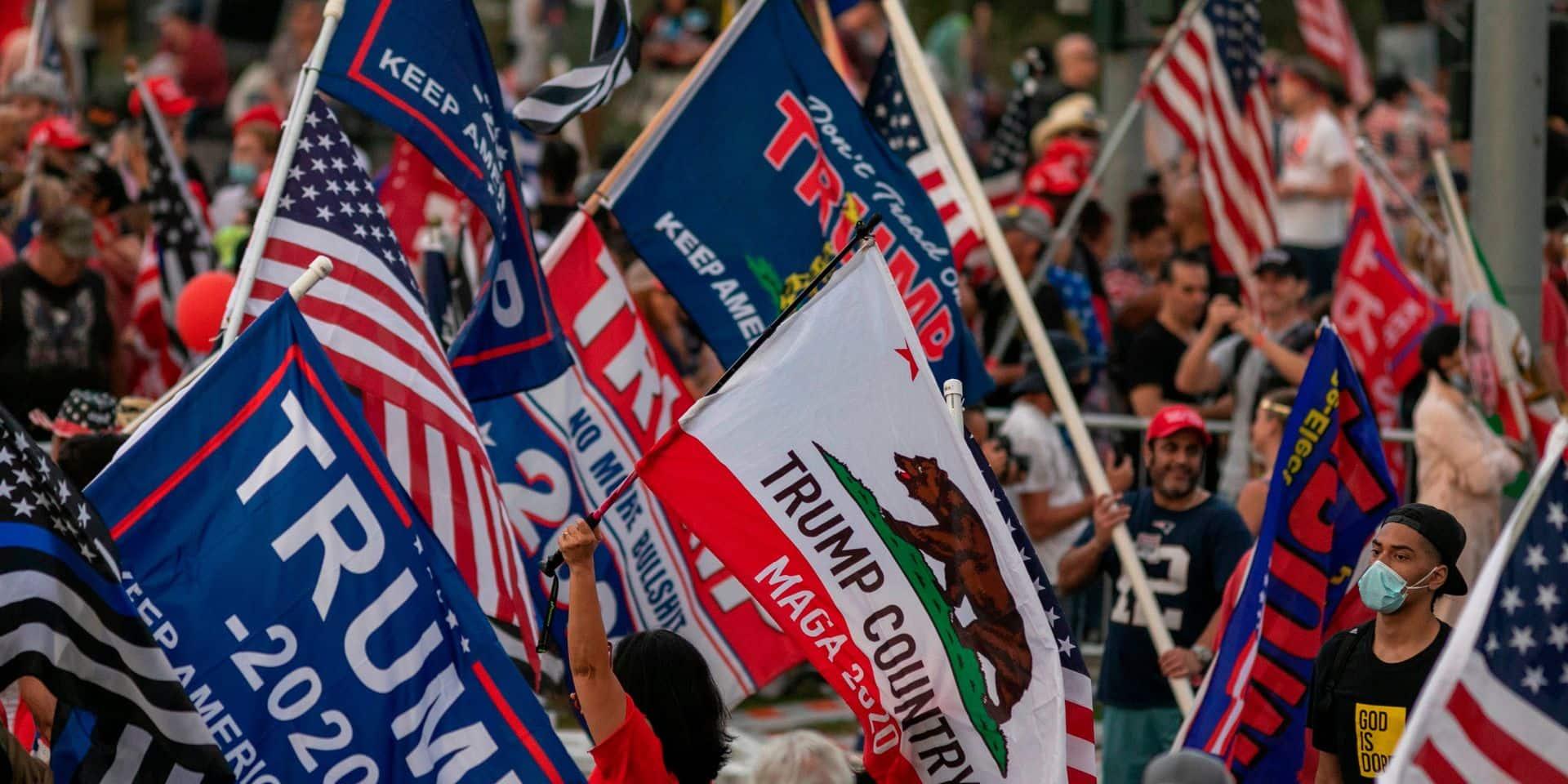"""Frank Rousseau, correspondant de la DH à Los Angeles, à propos de l'élection présidentielle américaine: """"En Californie, on a peur"""""""