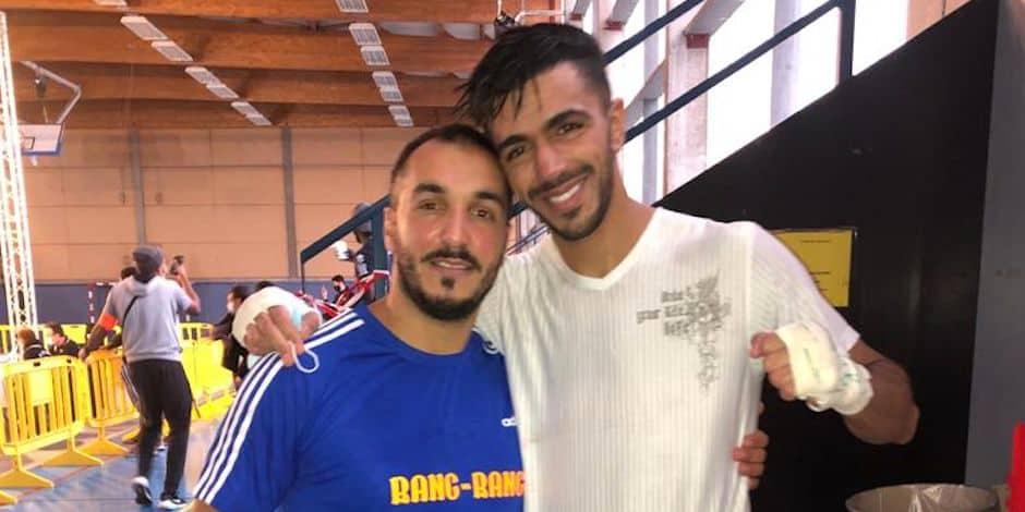 """Soufiane El Hammouchi sacré champion intercontinental en kickboxing: """"Cette ceinture va m'ouvrir des portes"""""""