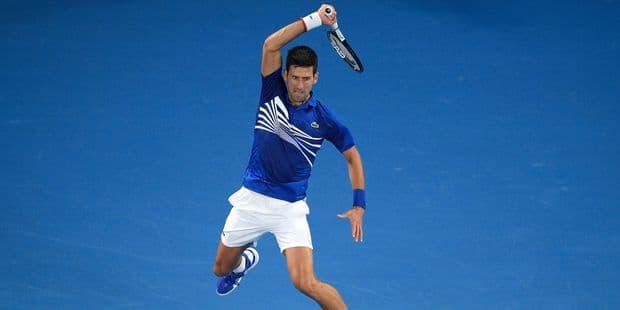 82043f10e8 Open d'Australie: Djokovic se balade contre Pouille et retrouvera Nadal en  finale - La DH