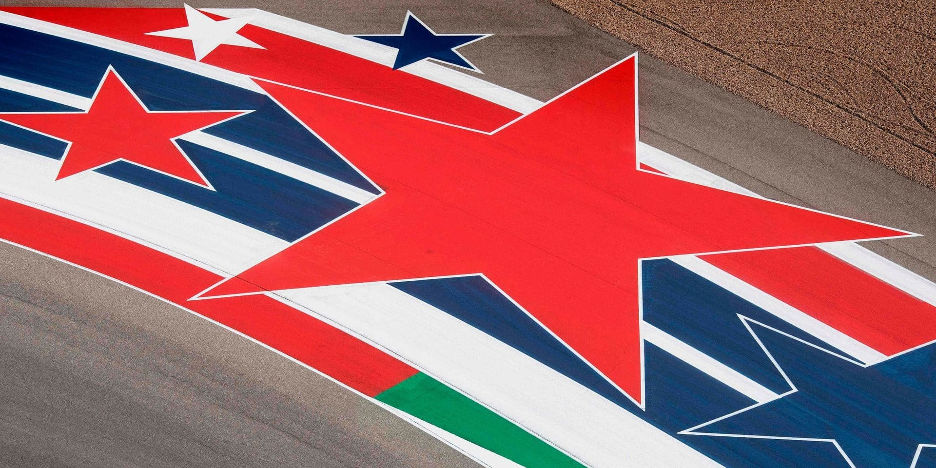 """Les Américains en F1 : un """"stars and stripes"""" discret"""