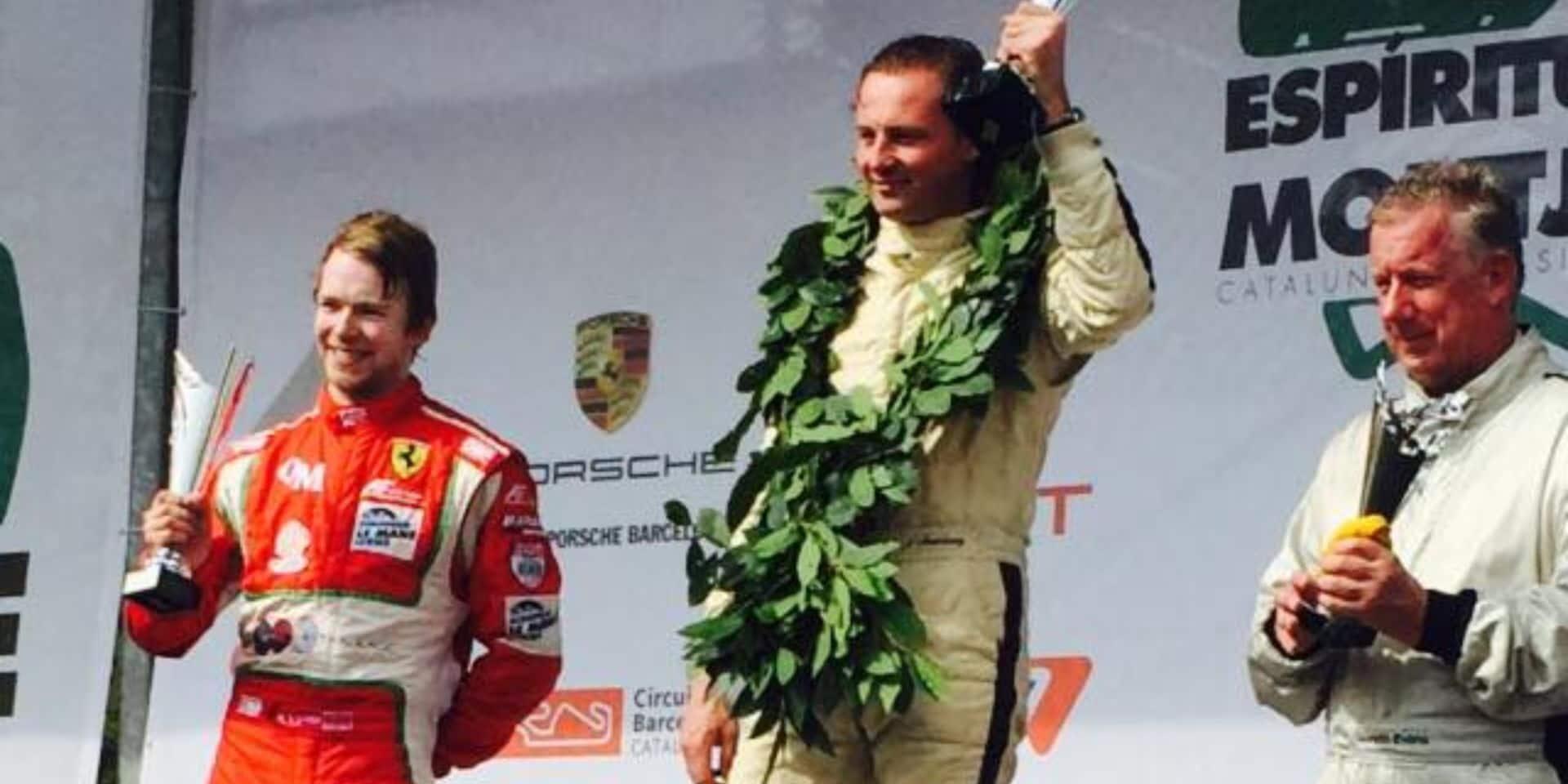Christophe D'Ansembourg, 3e Belge au départ des 24H du Mans !