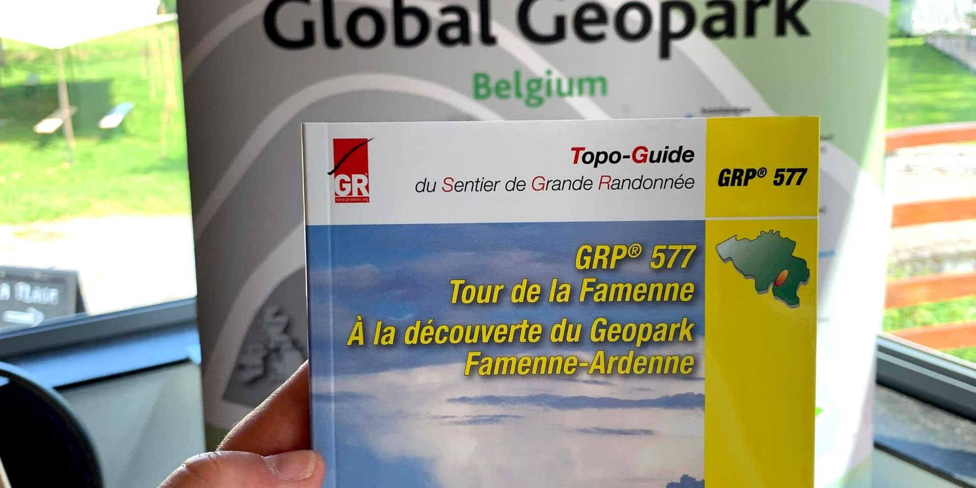 Un topo guide Géopark Famenne-Ardenne