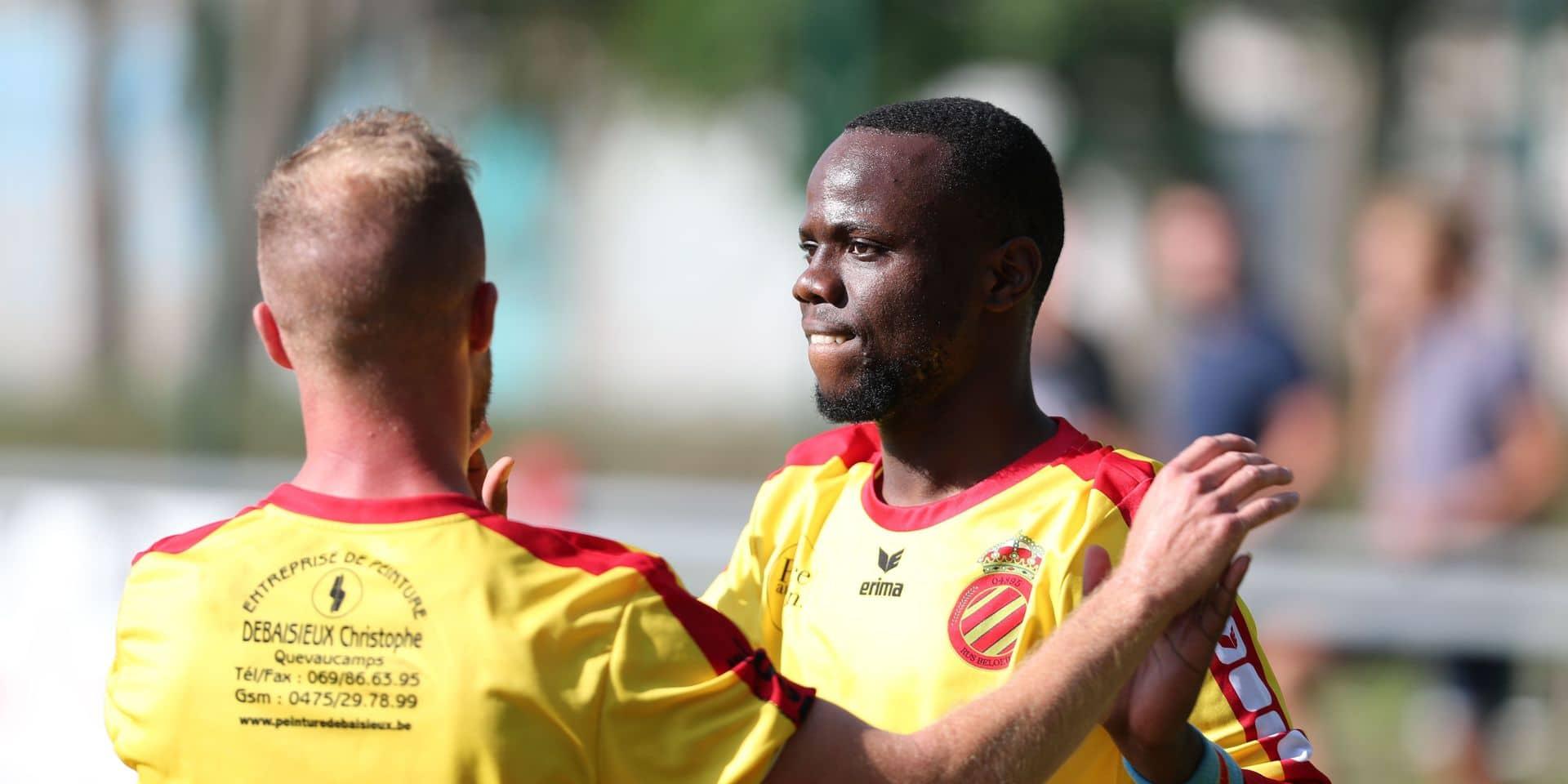 """Chris Nzuzi (Beloeil): """"A Renaix, j'ai compris qu'il fallait aller voir ailleurs"""""""