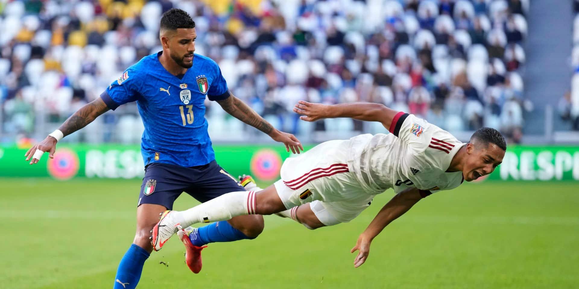 Deux défaites de rang, une première depuis 2016 pour les Belges: le match Italie - Belgique en questions