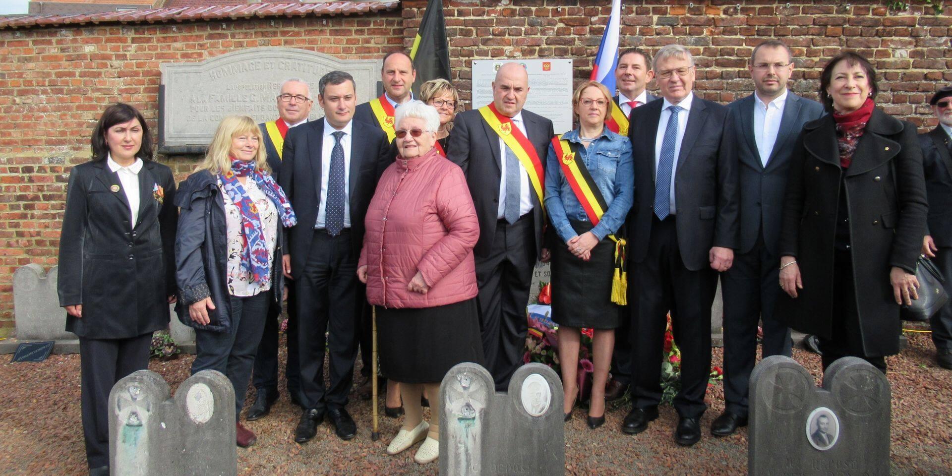Rebecq: Un monument dédié aux Russes morts en Belgique