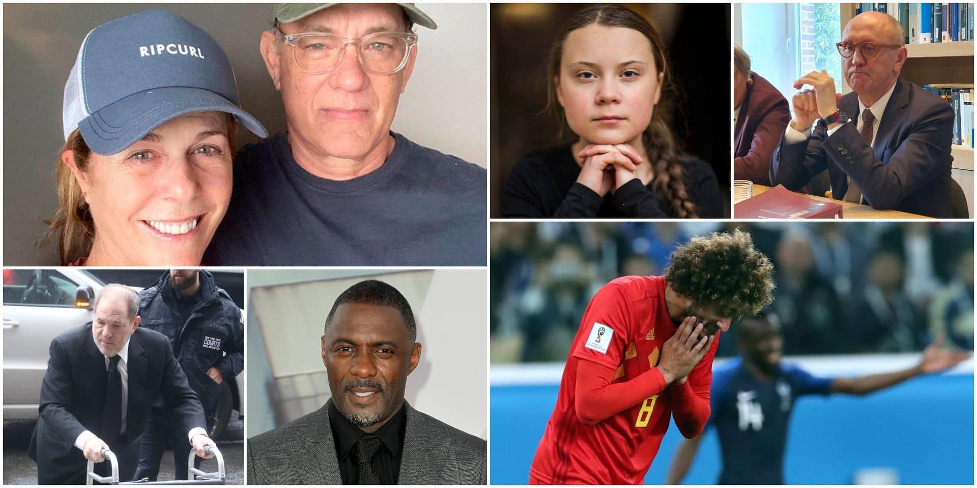 Greta Thunberg, le prince Charles, Marouane Fellaini, Idris Elba ... : de nombreuses personnalités contaminées par le coronavirus