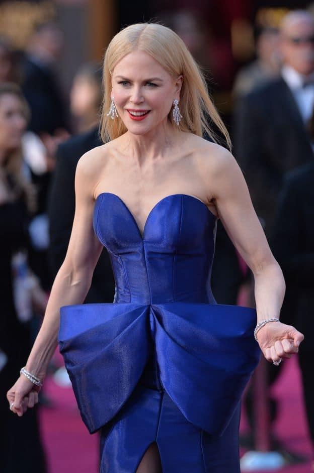 Look sans faute pour                              Nicole Kidman en                              Armani Privé