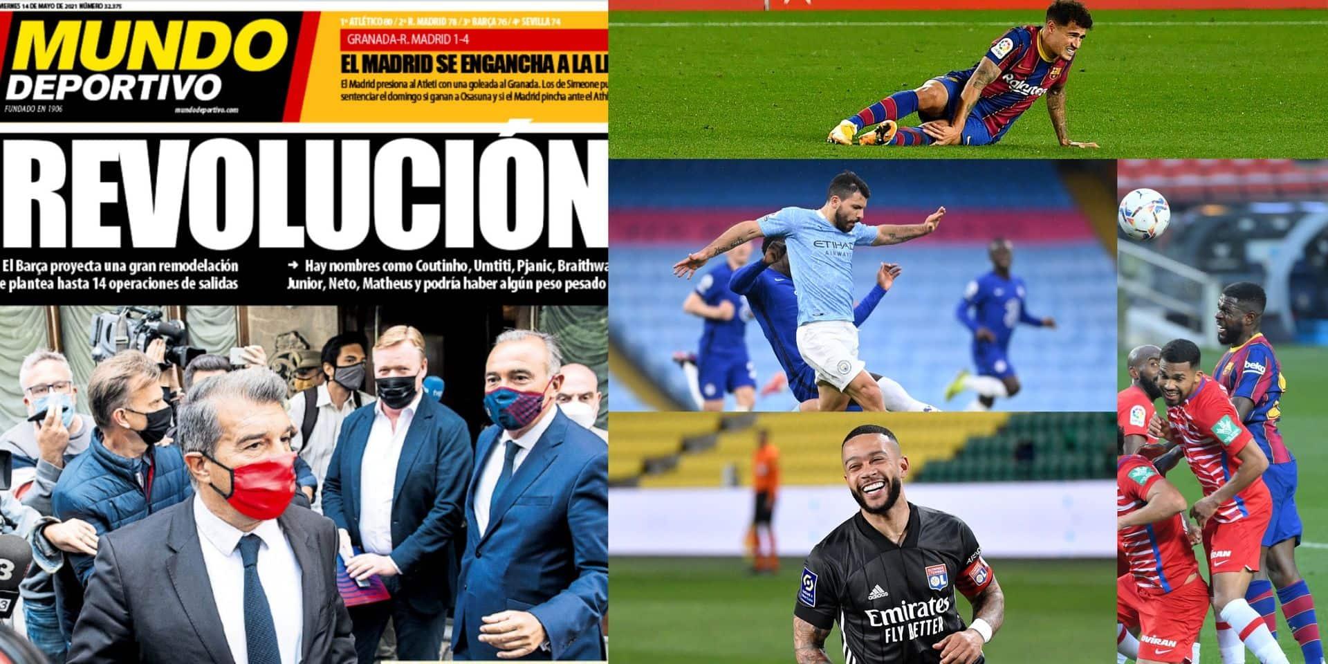 """""""Revolución"""" au FC Barcelone: le club s'apprête à effectuer une grande lessive estivale"""