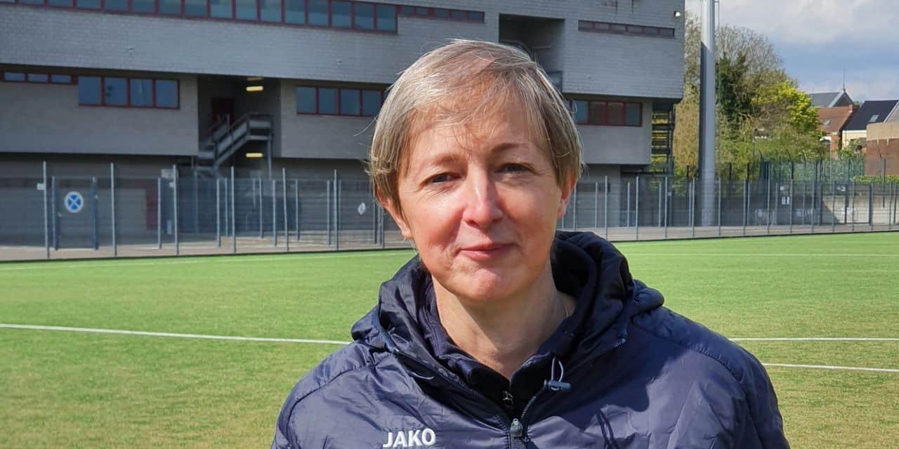 Nathalie Deswez, porte-drapeau du foot féminin montois