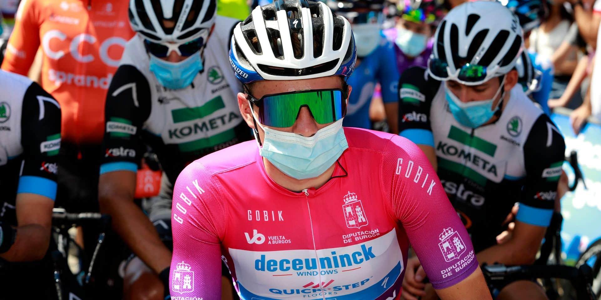 """Tour d'Italie: Evenepoel veut voir """"comment son corps réagira"""" durant le Giro, où il effectue son retour"""