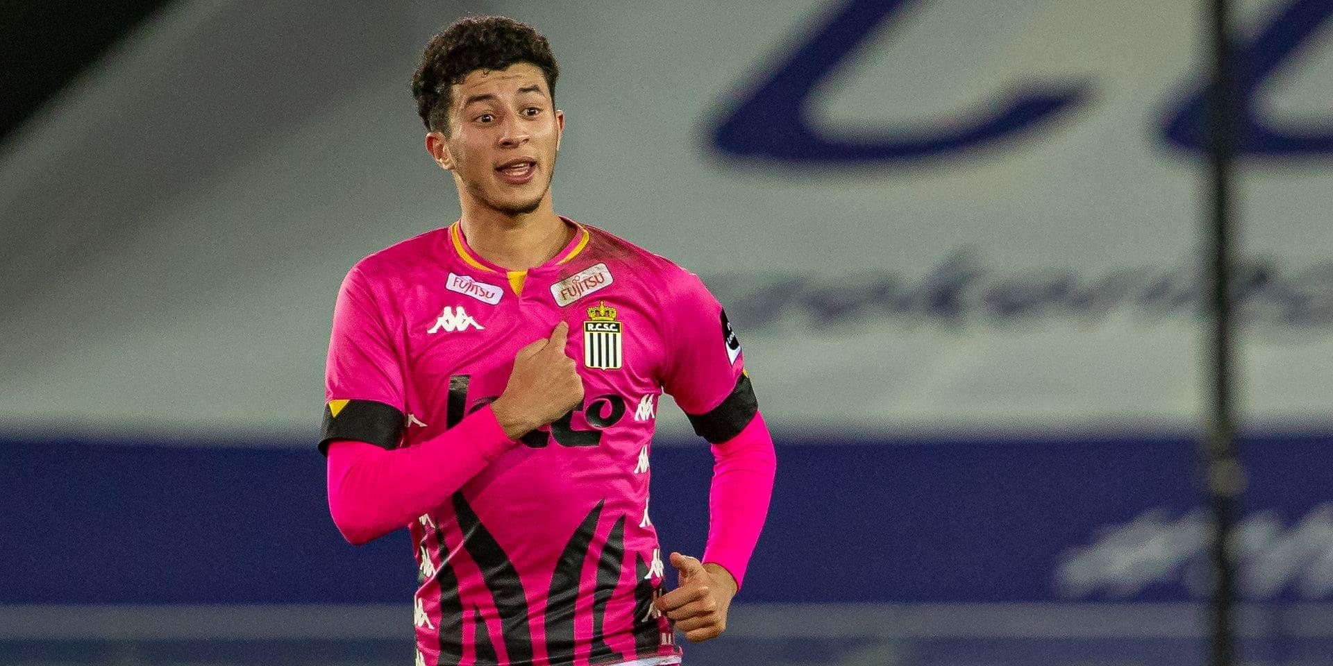 """Le Zèbre Amine Benchaib monte dans la hiérarchie à Charleroi: """"Il faut être prêt quand sa chance arrive"""""""