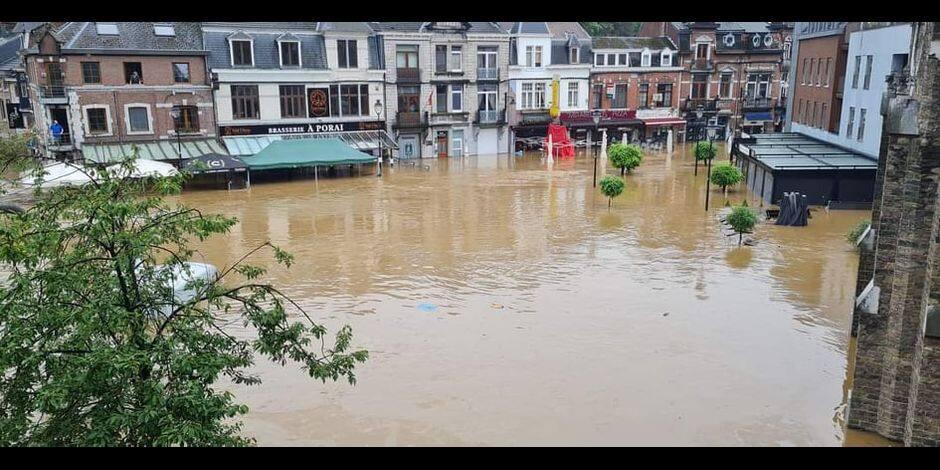 Inondations: des dons peuvent être déposés à la maison communale d'Estaimpuis