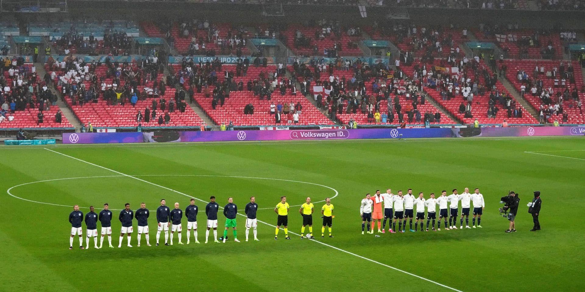 """""""Les hymnes à Wembley..."""" : les internautes ont la chair de poule avant même le coup d'envoi d'Angleterre-Ecosse"""