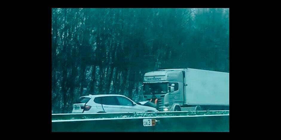 Huccorgne : Quatre véhicules se percutent !