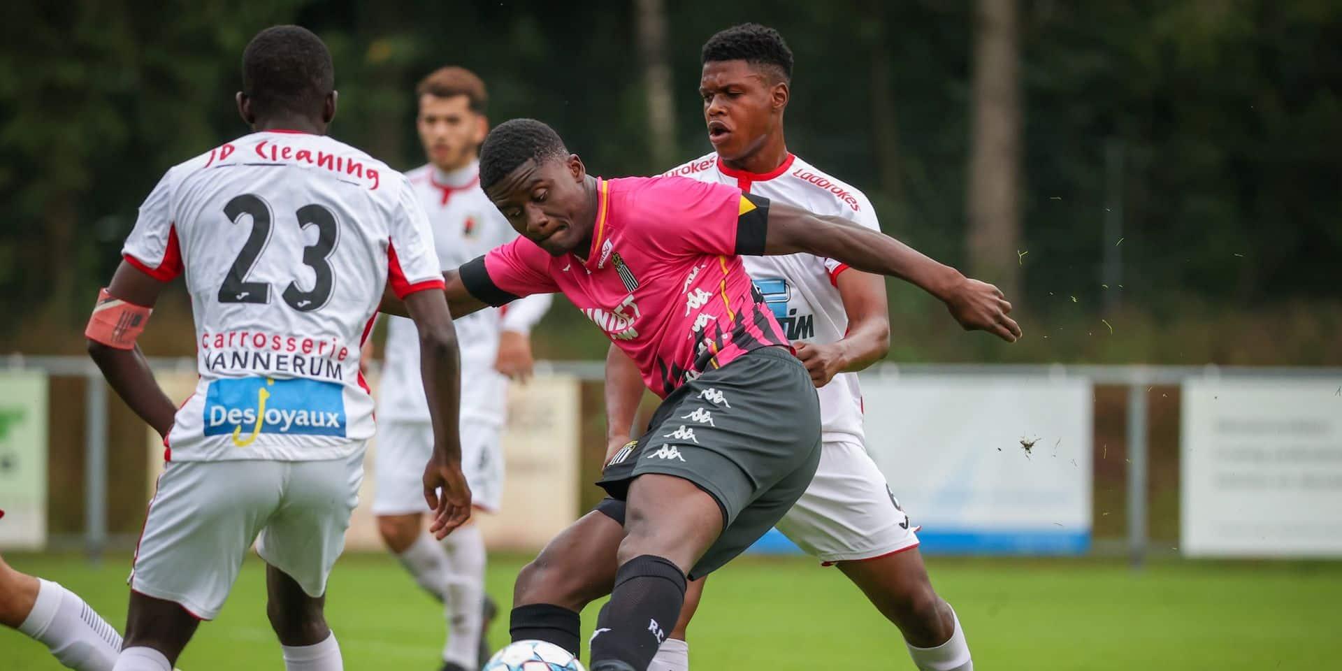 Charleroi et le RWDM se neutralisent en match amical (2-2)