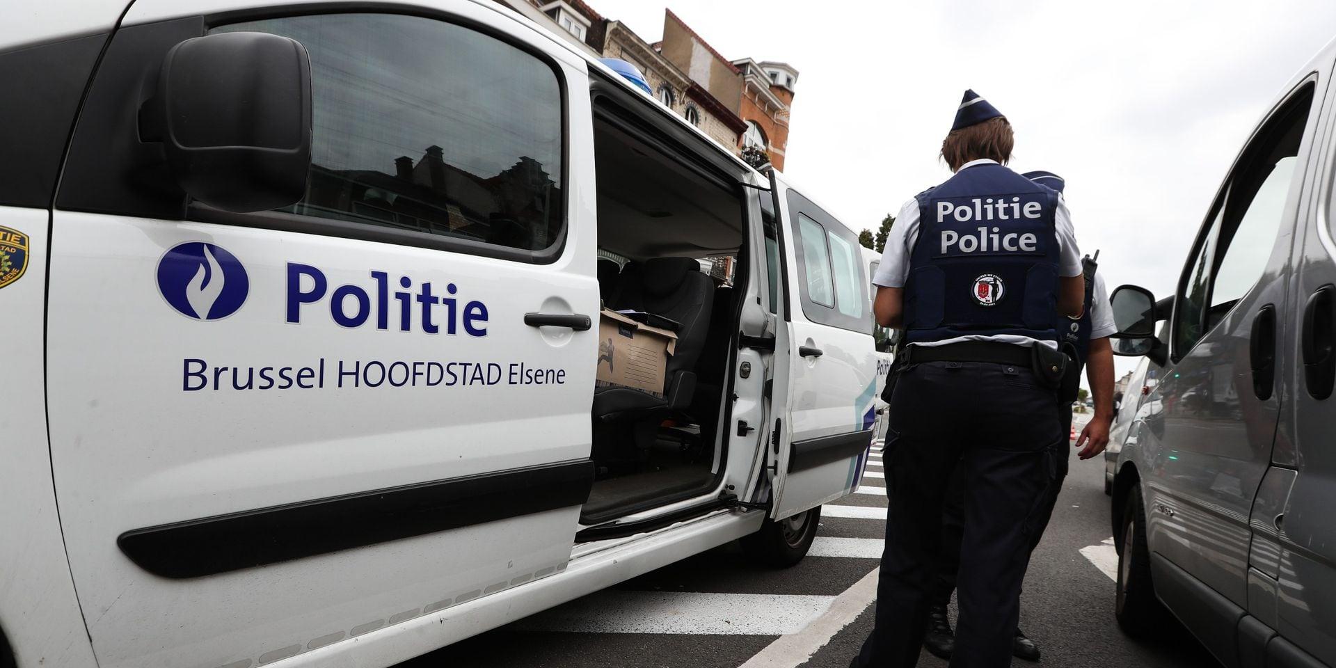 Accident avenue du Port à Bruxelles : un seul piéton a été grièvement blessé
