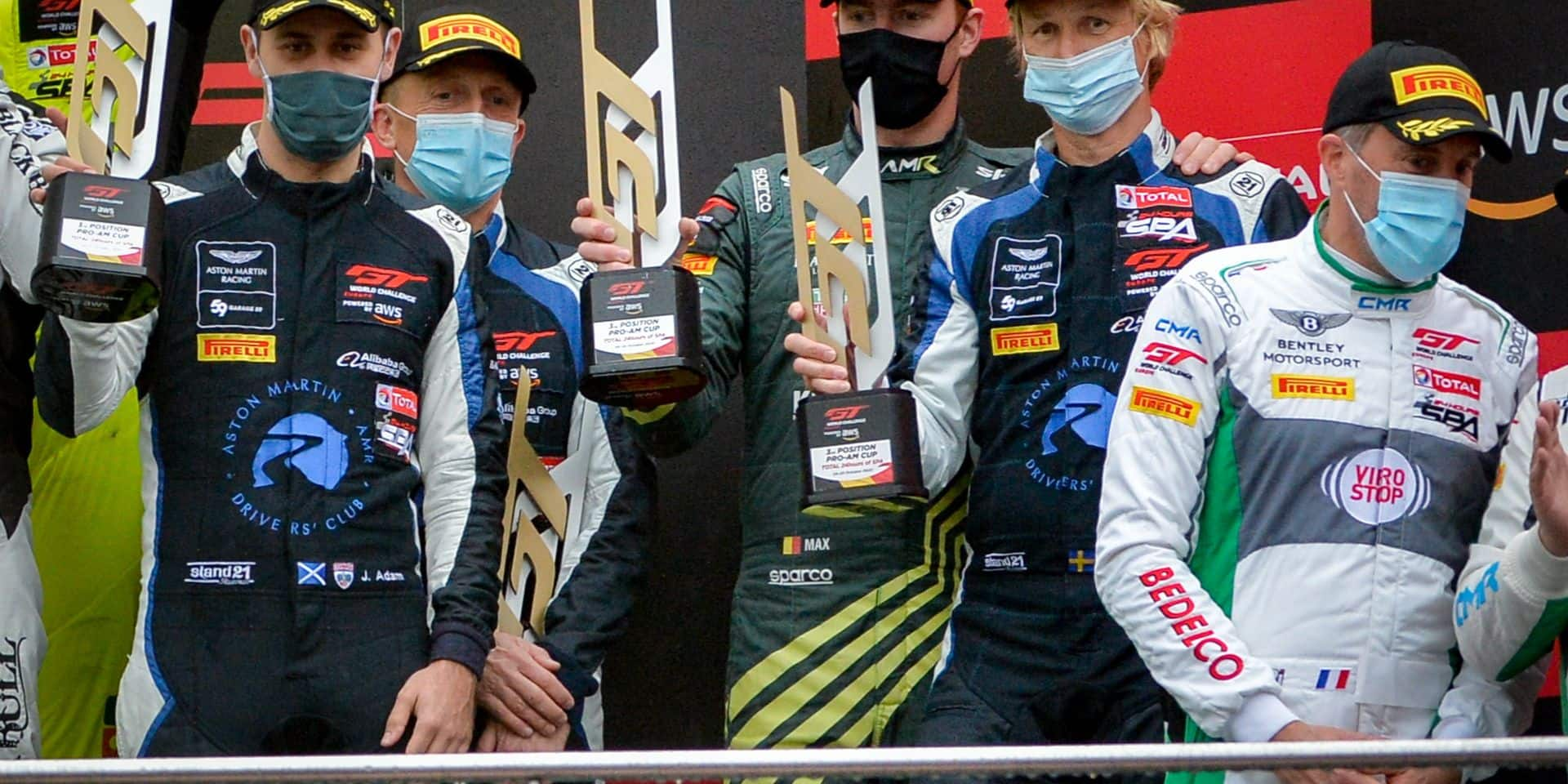 24H Spa: Pushpapy pousse les gentlemen drivers vers le podium Pro-Am