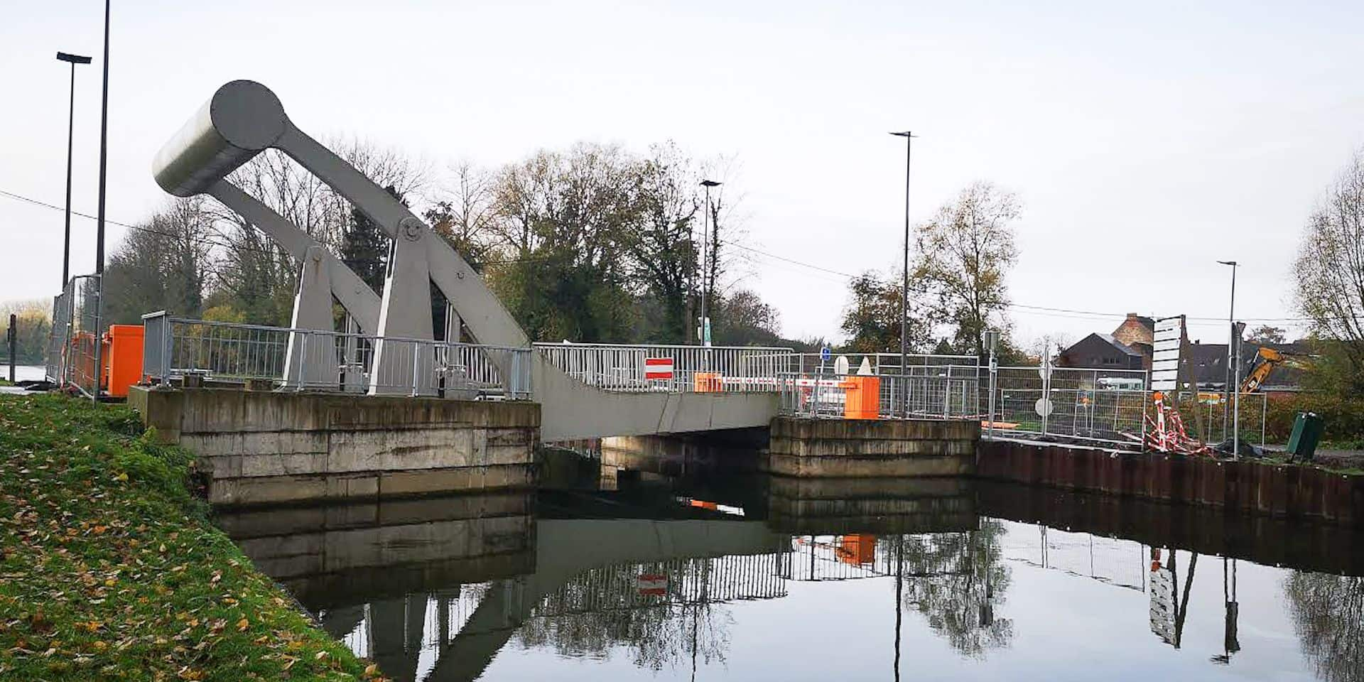 Tongre-Notre-Dame : le nouveau pont du canal hors service !