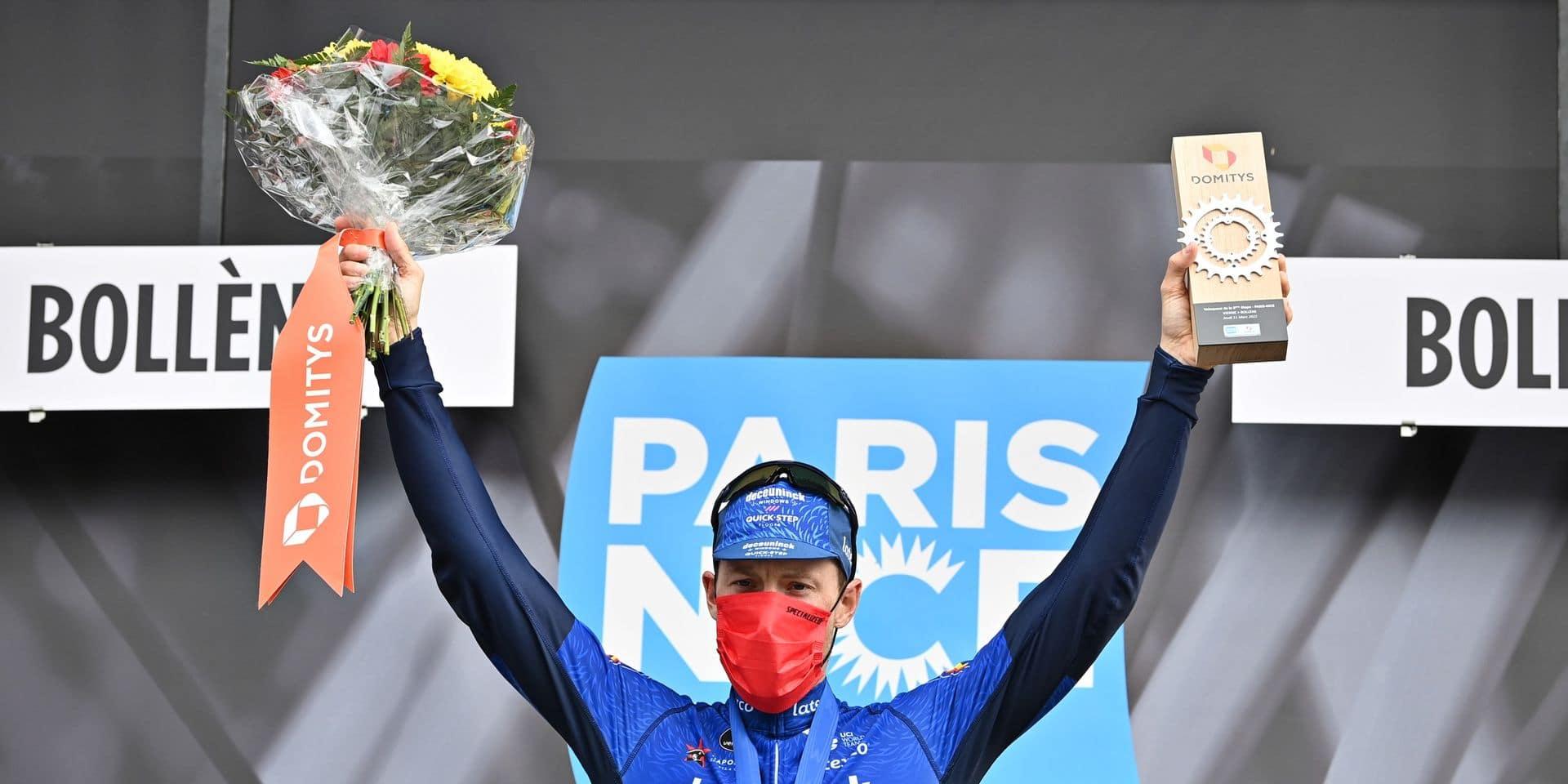 """Sam Bennett satisfait de son équipe après sa victoire au Paris-Nice: """"Mes équipiers tirent trop fort"""""""