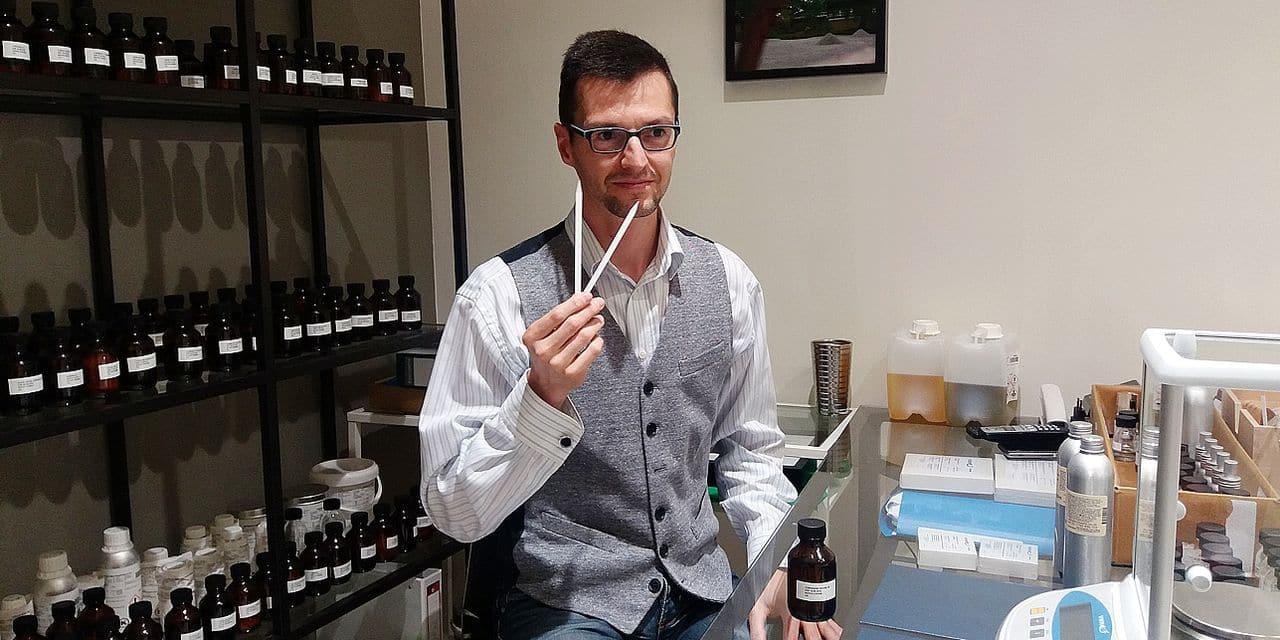 L'artisan parfumeur namurois NeZ ZeN inspire une cheffe étoilée