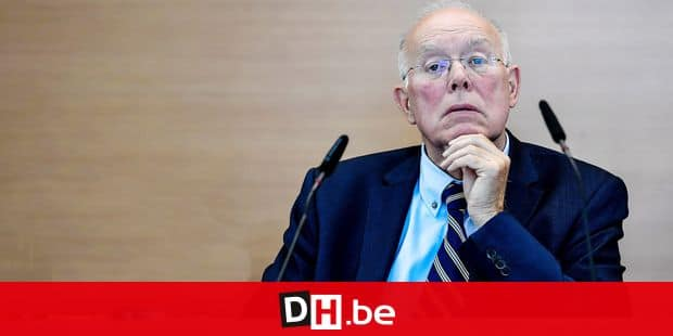Brussels parliament chairman Charles Picque pictured during the 'rentree' plenary session of the parliament of Brussels Region in Brussels, with today a political declaration of Brussels government, Monday 18 September 2017. BELGA PHOTO DIRK WAEM