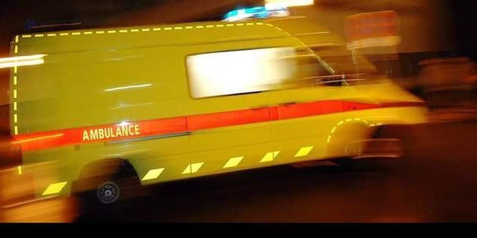 Bauffe: Un automobiliste désincarcéré après avoir embouti un camion sur la N56 !