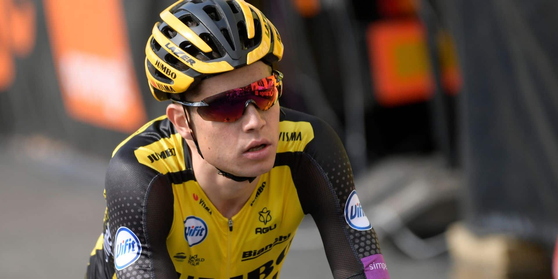 Wout Van Aert n'est pas encore remis de sa chute au Tour et pourrait faire l'impasse sur la saison de cyclo-cross