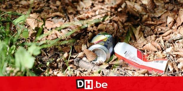 incivilite dechet PMC metaux metal cannette boite conserve environnement poubelle recyclage jeter boisson nature pollution