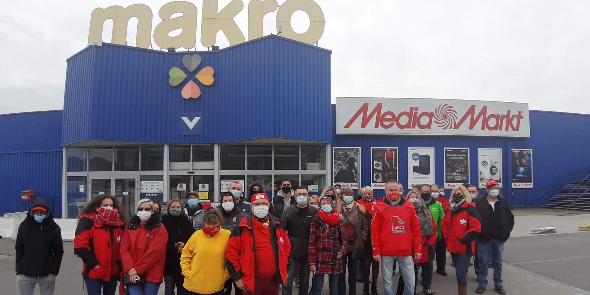 Lodelinsart: nouveau samedi de grève chez Makro