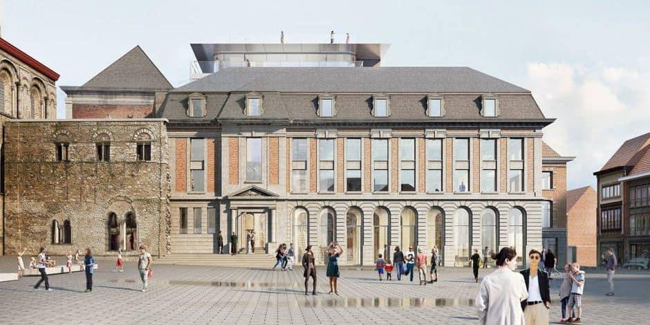 Tournai : enquête publique ouverte à propos du projet de réinvestissement du site des Anciens Prêtres
