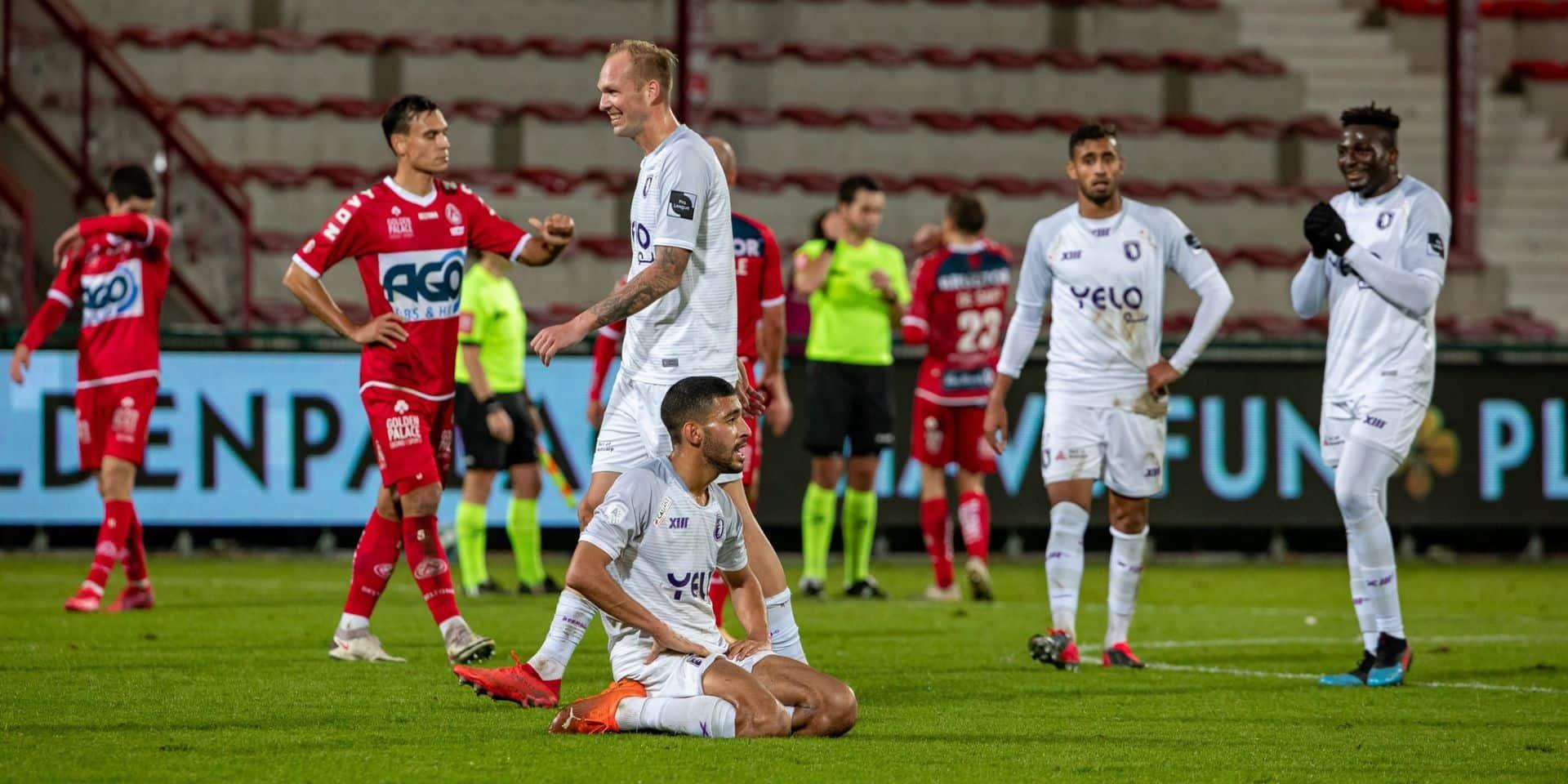 Partage entre Courtrai et le Beerschot au terme match fou (5-5)