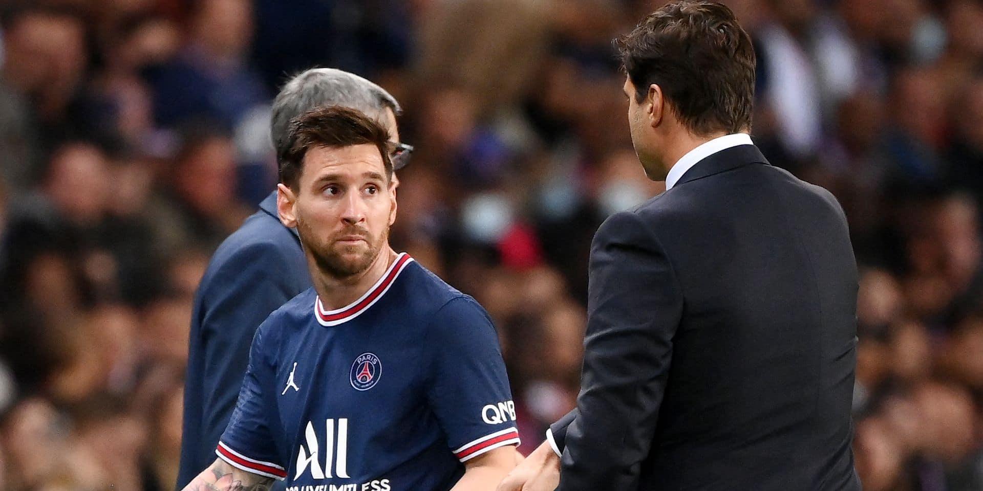 Les vraies raisons du remplacement de Lionel Messi lors de PSG-OL