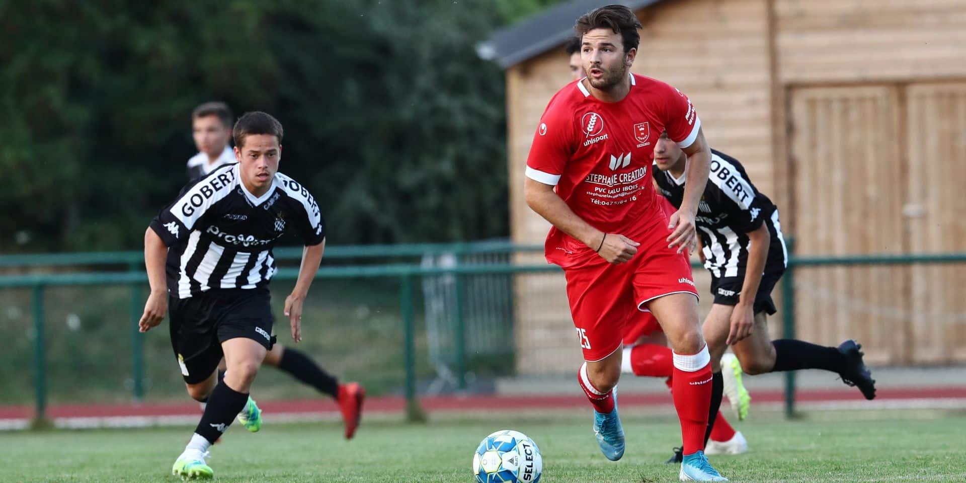 Mathias Larotonda quitte le Stade Brainois et s'engage à Perwez, en P2