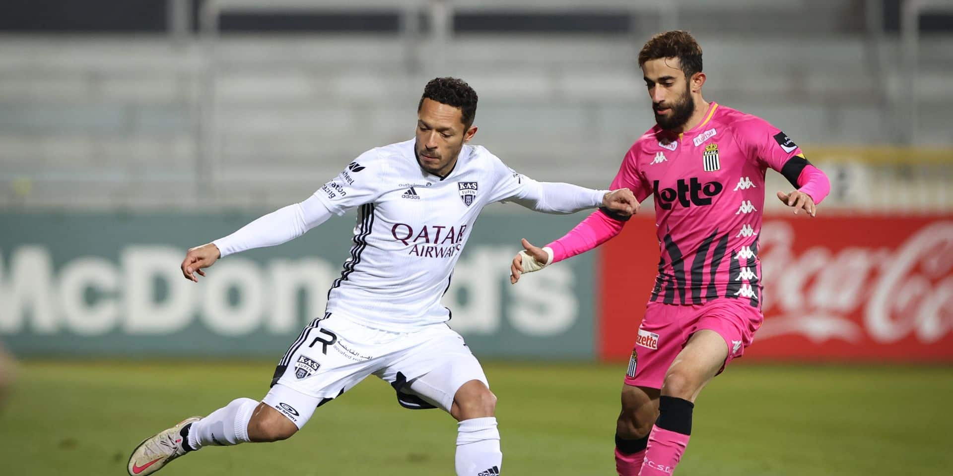 Eupen s'impose contre Charleroi (3-1)