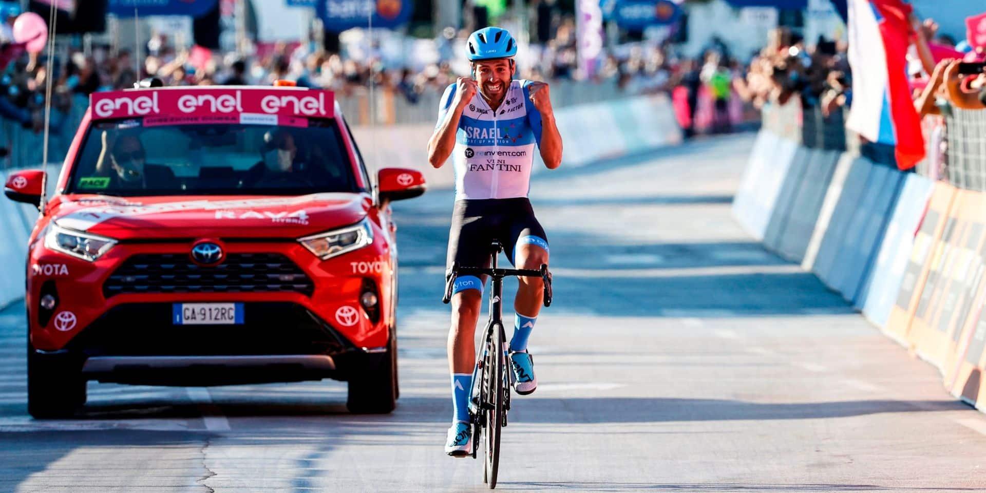 Giro: Alex Dowsett s'impose en solitaire dans la 8e étape