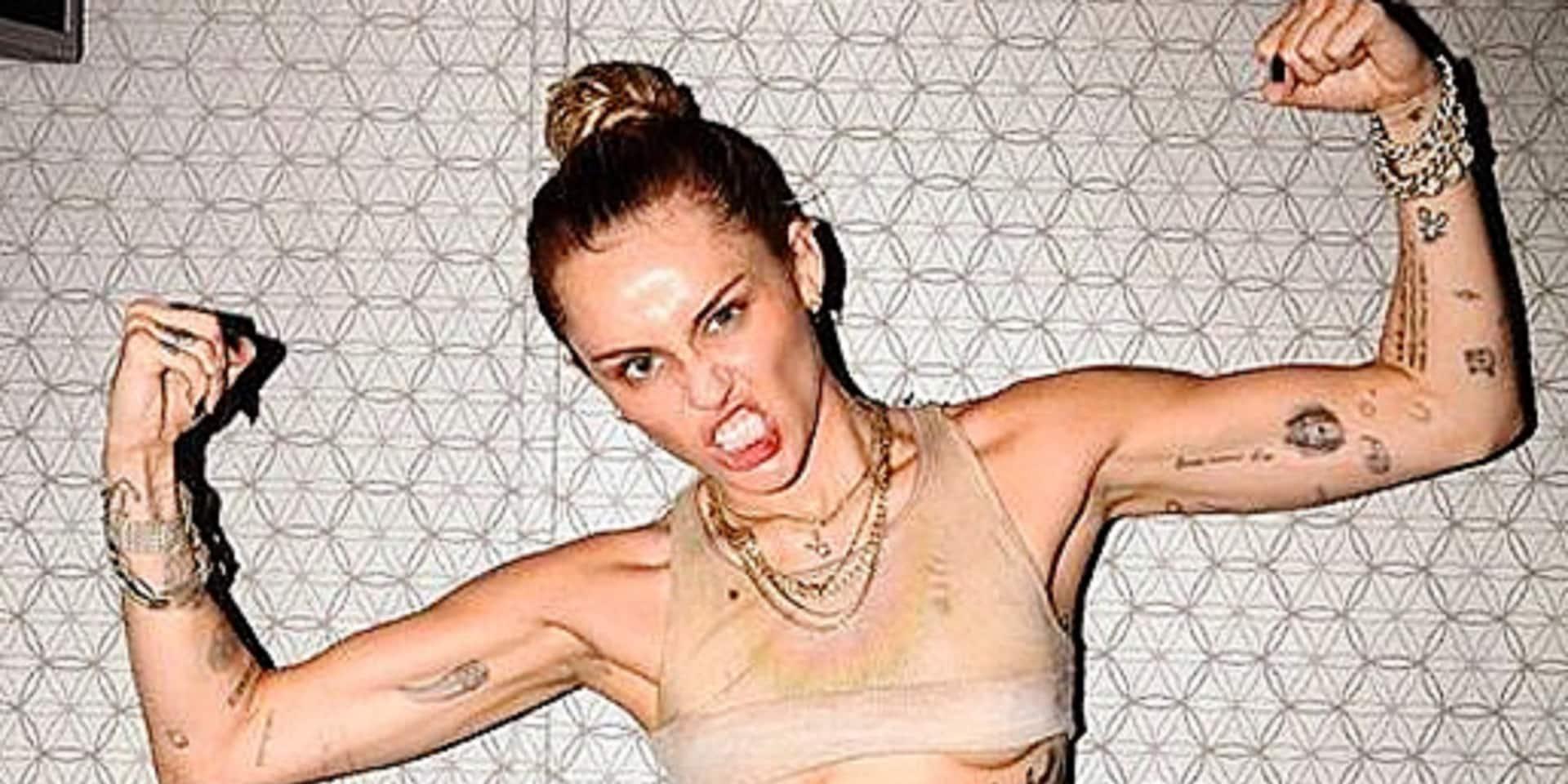 Miley Cyrus, cœur à prendre