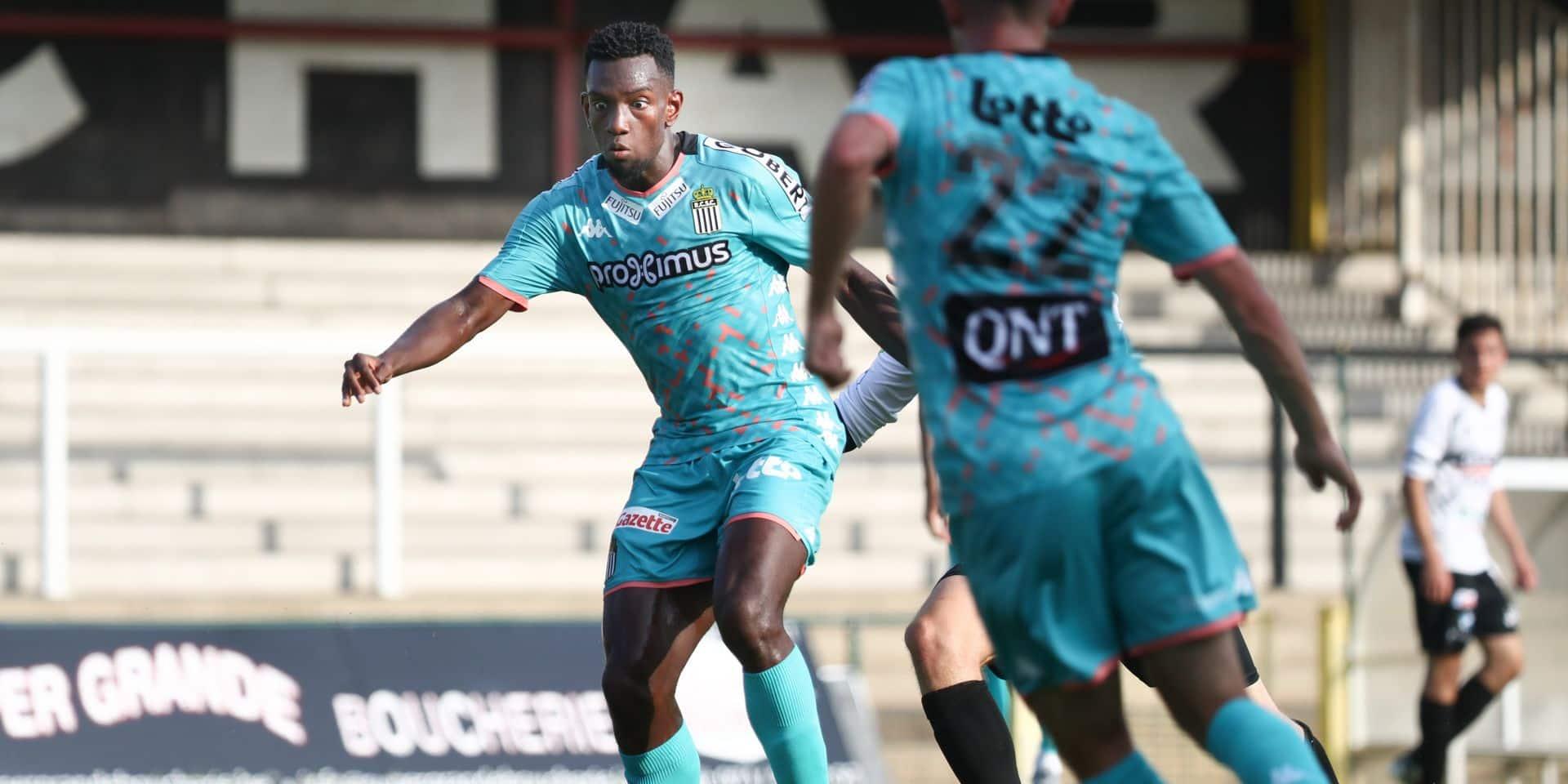 En manque de temps de jeu, Frank Tsadjout devrait quitter Charleroi