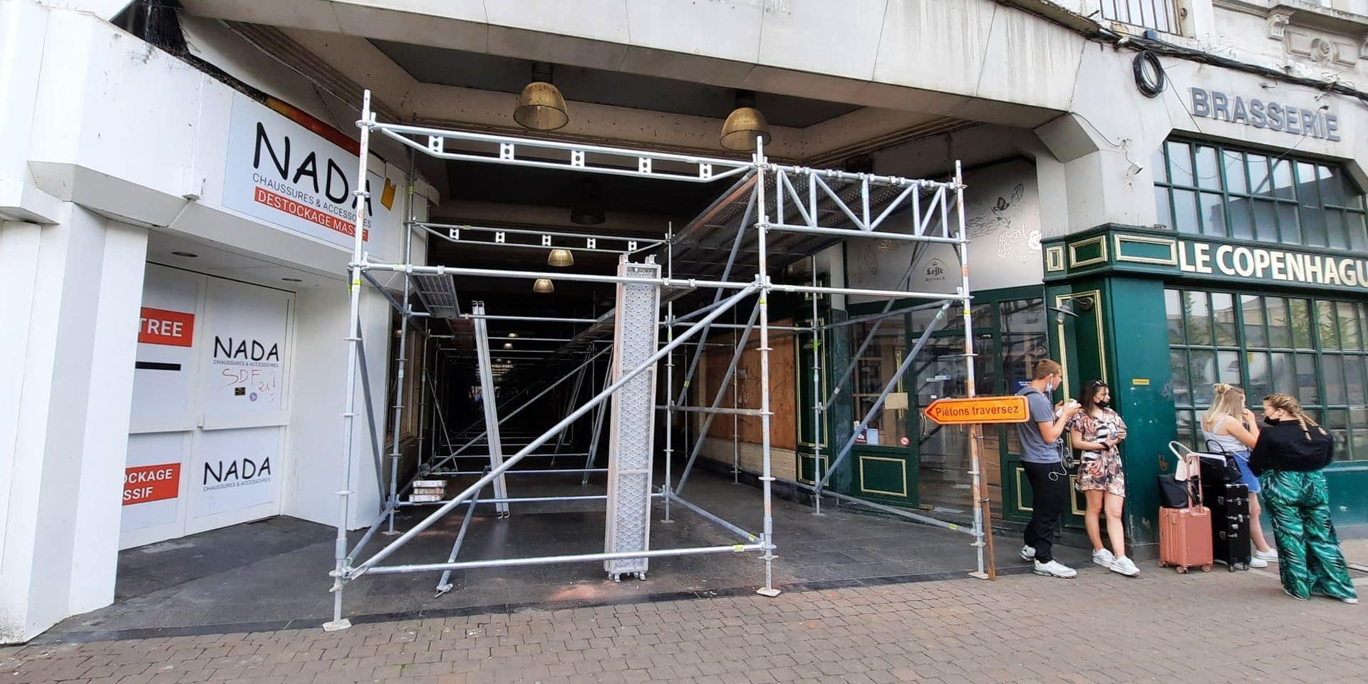 Namur : la rénovation du Passage Wérenne a débuté