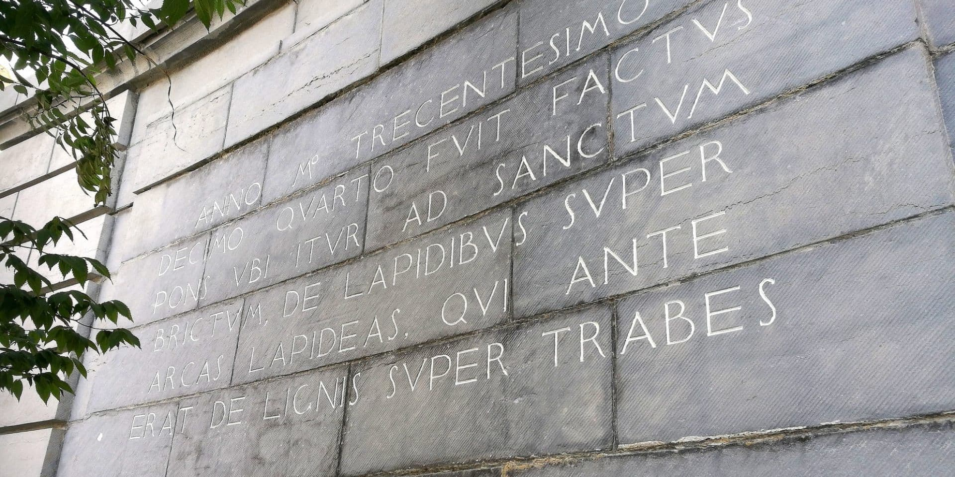 Tournai: le passé du pont-à-Ponts mis en valeur