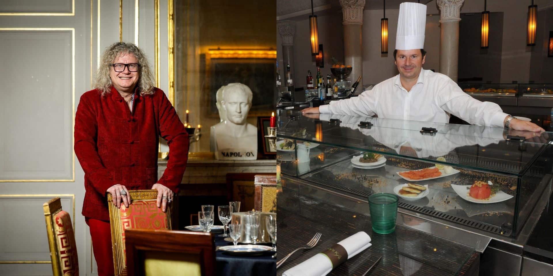 Pierre-Jean Chalençon et le chef Christophe Leroy en garde à vue pour leurs dîners clandestins!