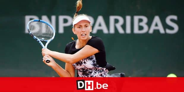 Belgian Elise Mertens pictured in action during a tennis match between Belgian Elise Mertens (WTA 16) and Australian Daria Gavrilova (WTA 25) in the third round of the women's singles at the Roland Garros French Open tennis tournament, in Paris, France, Saturday 02 June 2018. The main draw of this year's Roland Garros Grand Slam takes place from 27 May to 10 June. BELGA PHOTO BENOIT DOPPAGNE