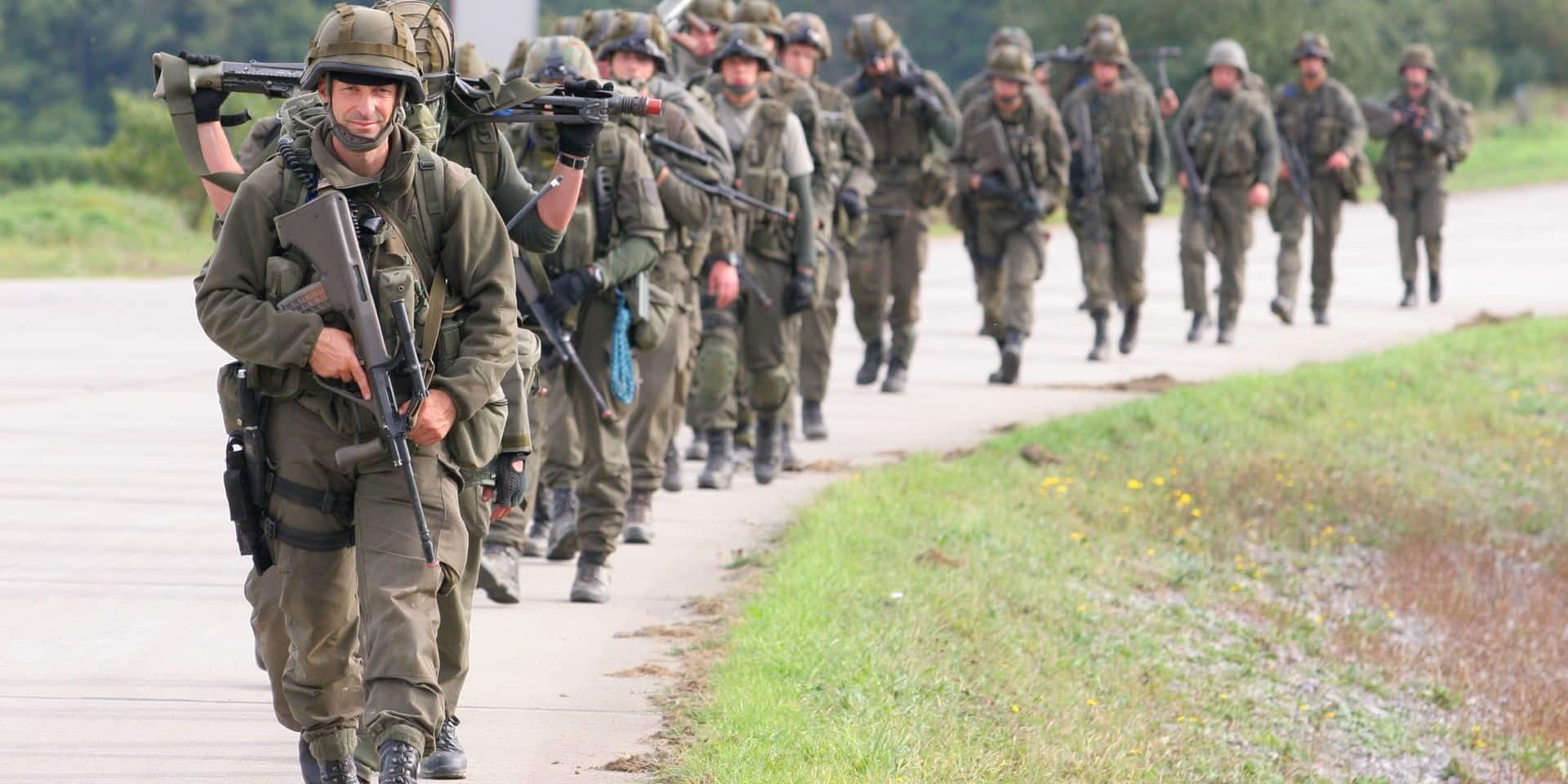 Selon les experts, la Belgique doit accroître ses capacités militaires