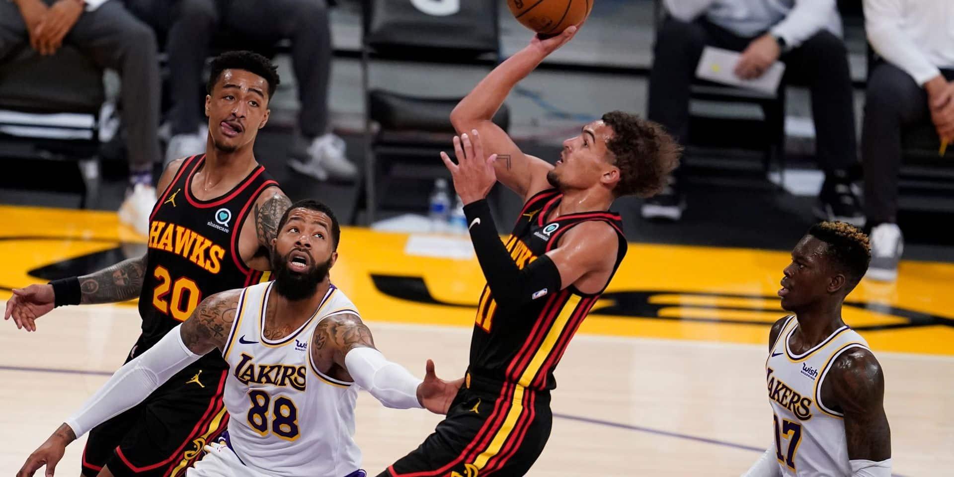 NBA: les Lakers perdent le match et s'inquiètent pour LeBron James