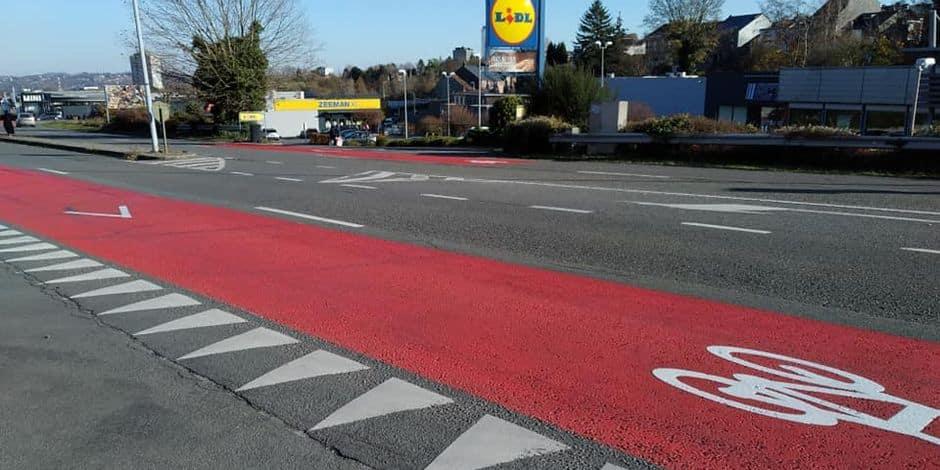 Seraing: des aménagements sur le boulevard Pasteur qui ne font pas l'unanimité...