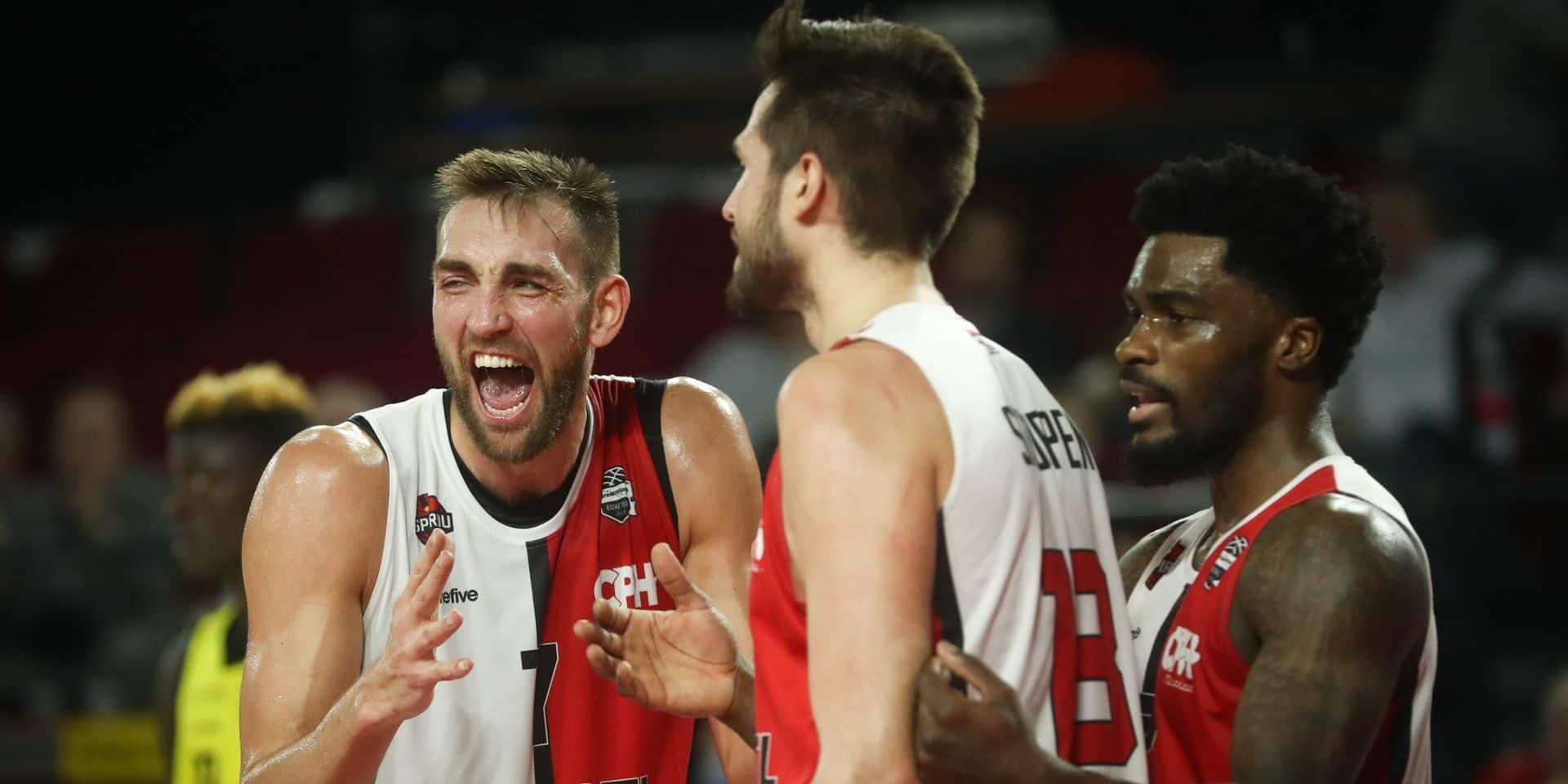Coupe de Belgique de basket: le Spirou Charleroi battu à Ostende mais qualifié pour les demi-finales sur le buzzer