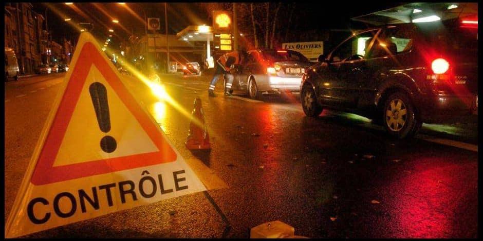 234 véhicules contrôlés par la zone de police Fagnes samedi soir