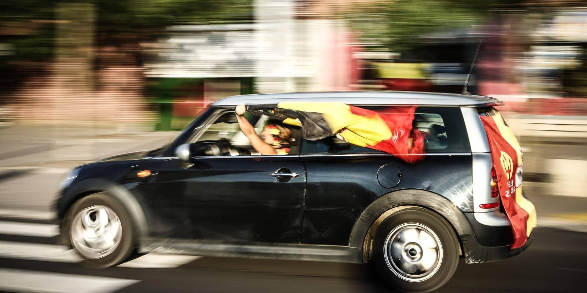 Klaxons de victoire après Belgique-Italie: la police veillera et filtrera les accès dans certaines villes, quel que soit le vainqueur